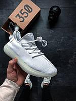 Мужские кроссовки Off-White x adidas Yeezy Boost 350 V2, Копия, фото 1