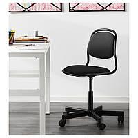 Детское компьютерное кресло ORFJALL черное