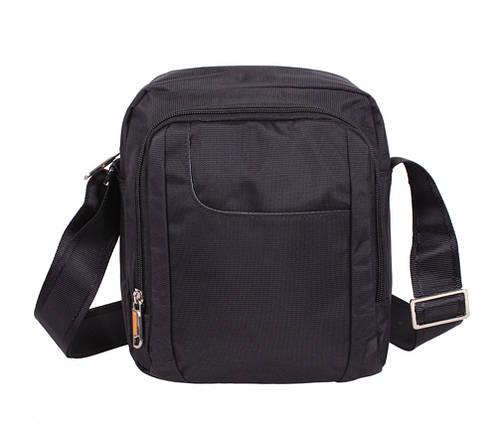 81612cc083c1 Мужская тканевая сумка через плечо NL242-21 черная купить в Киеве с ...