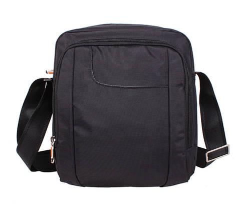 d2e30212c8f8 Мужская тканевая сумка через плечо NL242-31 черная купить в Киеве с ...