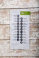 """Скретч-открытка """"20 дел, которые нужно сделать в горах"""" White"""