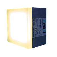 LED тротуарная плитка 3100к 90х90х60мм 1,8 Вт, ІР68