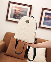 Замечательный стильный городской рюкзак под кожу рептилии. Хорошее качество. Доступная цена. Код: КГ3471