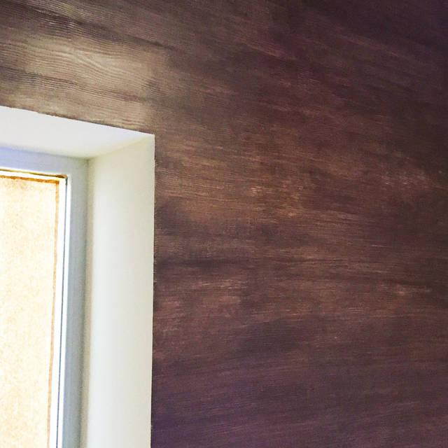 Эффект бруса на стене