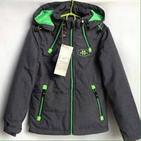 Демисезонная куртка для мальчиков 140-164