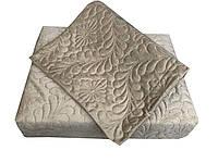 Велюрове покривало Le vele євро розміру Topac Soil