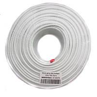Коаксиальный кабель FinMark RG-6 белый (100м)