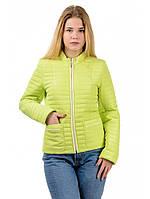 Женская  молодежная демисезонная куртка-пиджак