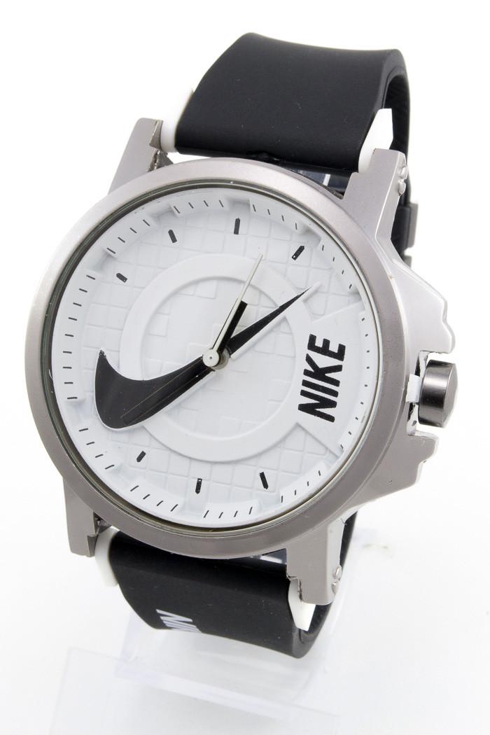 d907db0a Наручные спортивные часы Nike, Найк черные с белым - Интернет-магазин