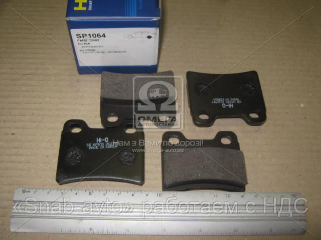 Колодка тормозная KIA SEPHIA 1.5, 1.8 92-97 задн. (производство SANGSIN) (арт. SP1064), ACHZX