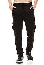 Мужские спортивные штаны 377 черные