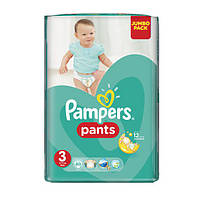 Подгузники-трусики Памперс Трусики Pampers Pants 3 (6–11кг.) Midi 60шт.