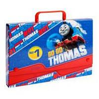 Папка-портфель С4 школьная Thomas  картонная