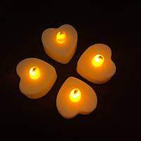 Электронные свечи Yellow Heart набор