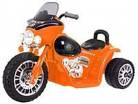 Детский электромотоцикл JT568 ЧОППЕР + ПОДАРКИ (корзина,наклейки) В НАЛИЧИИ