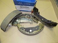 Колодки тормозные барабанные (Производство Mobis) 583054AA30, AFHZX