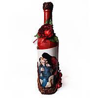 Сувенирная бутылка с Вашим фото на заказ Подарок на 8 марта