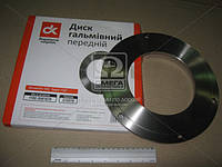 Диск тормозной ЗАЗ 1102 ТАВРИЯ передний  (арт. 1102-3501070), ABHZX