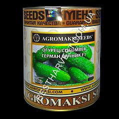 Семена огурца «Герман Дачник F1» 100 г, инкрустированные (Агромакси)