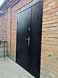 Двери входные в частный дом 1,20 ширина 2,05 висота, фото 3