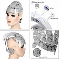 Массажный шлем LY-617E - массажер для головы