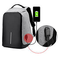 Хит! Рюкзак с защитой от краж Bobby-бобби-антивор с USB зарядкой