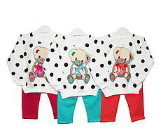 Костюмы детские трикотажные для девочки Enes 547