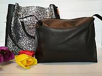 Модная женская сумка с косметичкой