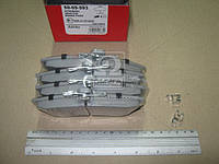 Колодка тормозной MITSUBISHI CARISMA (Производство ASHIKA) 50-05-593, ADHZX
