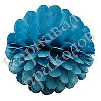 Бумажный шар цветок 20см (лазурный 0003), фото 1