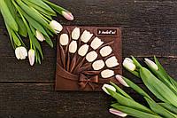"""Красивый и нежный подарок """"Композиция тюльпаны"""""""