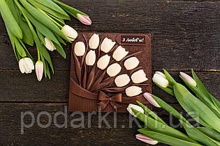 Шоколадные тюльпаны для любимой