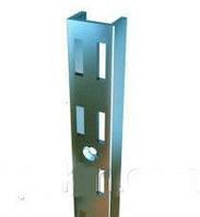 Рейка (Профиль) хром 2 м. Универсальная