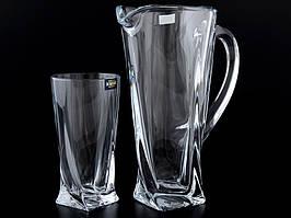 Набор для напитков Bohemia Quadro 99999/99A44/100