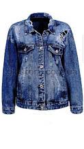 Женская джинсовая куртка Glo-Story