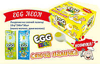 Леденец на светящейся палочке Egg Neon 10 гр 30 шт Vitaland