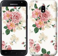 """Чехол на Samsung Galaxy J3 (2017) цветочные обои v1 """"2293c-650-328"""""""