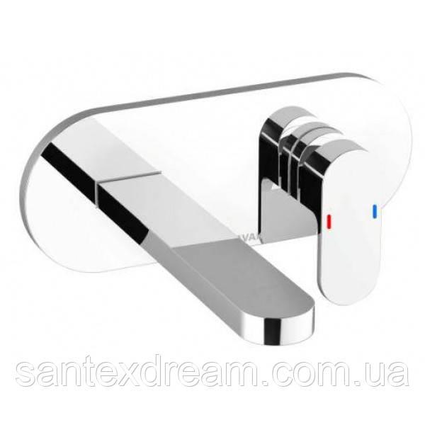 Смеситель для умывальника Ravak Chrome CR 019.00 скрытый монтаж