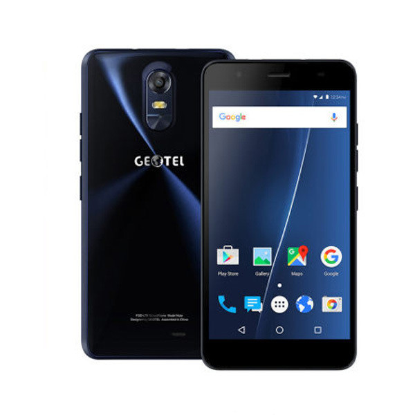 "Смартфон Geotel Note Blue, 3/16Gb, 4 ядра, 13/5 Мп, 5.5"" IPS, 2 SIM, 4G, 3200 мАч"