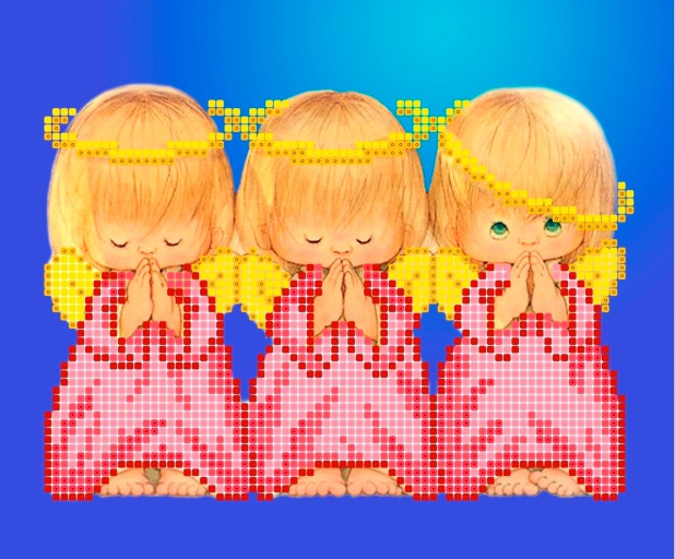 Схема для вишивки та вишивання бісером Бисерок «Майже ідеальний» (A5) 15x18 (ЧВ-2329(10))
