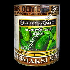 Семена огурца «Теща F1» 100 г, инкрустированные (Агромакси)