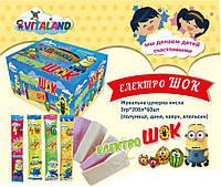 Жевательная конфета кислая Электрошок 5 гр 60 шт Vitaland