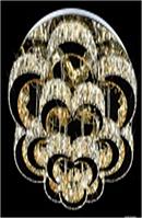 Люстра Л 87729/600   84w, C60*H28, пульт в комплекте