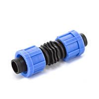 Соединение ремонтное Presto-PS для капельной ленты, в упаковке - 100 шт. (LC-0117)