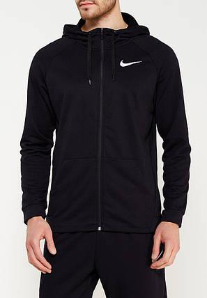 Толстовка Nike M NK DRY HOODIE FZ FLEECE 860465-010 (Оригинал), фото 2