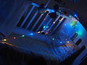Светящиеся шары SoFun на палочке разноцветная подсветка