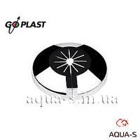 Розетка хромированная декоративная разборная Go-Plast 10-16 мм