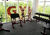 Резиновые маты для тренажерных залов и спортплощадок