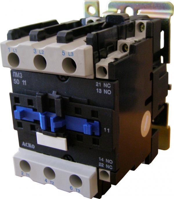 Пускатель магнитный АСКО-УКРЕМ ПМ3-50 (LC1-D5011) Q7 380В