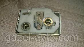 Механизм дверного замка Газель,Соболь левый наружный (шоколадка) (пр-во СТАРТ,Россия)